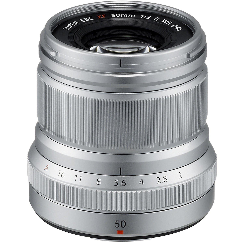Объектив Fujifilm XF 50 mm f/2.0 R WR Silver (16536623) фото 1