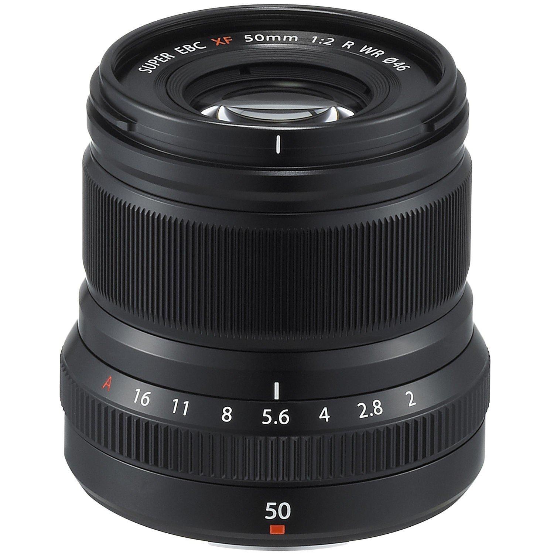 Объектив Fujifilm XF 50 mm f/2.0 R WR Black (16536611) фото 1