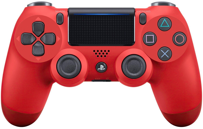 Беспроводной геймпад SONY Dualshock 4 V2 Red для PS4 (9894353) фото 1