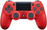 Бездротовий геймпад SONY Dualshock 4 V2 Red для PS4 (9894353)
