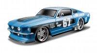 Автомодель MAISTO 1:24 Ford Mustang GT 1967 (81223 met. blue)