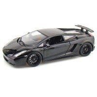 Автомодель MAISTO 1:18 Lamborghini Gallardo Superleggera (31149 met. black)