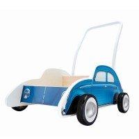 Толкач HAPE Машина синяя (E0382)