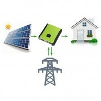 Сетевая солнечная электростанция 13250Вт PV-Massive DC 3 фазы 12.0 Квт, под зеленый тариф