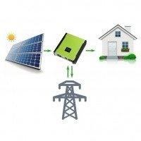 Сетевая солнечная электростанция 34980 Вт PV-Massive DC 3 фазы 30.0 Квт, под зеленый тариф
