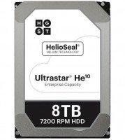 """Жесткий диск внутренний HGST 3.5"""" SAS Ultrastar He10 8TB 7200rpm 256MB (0F27358)"""