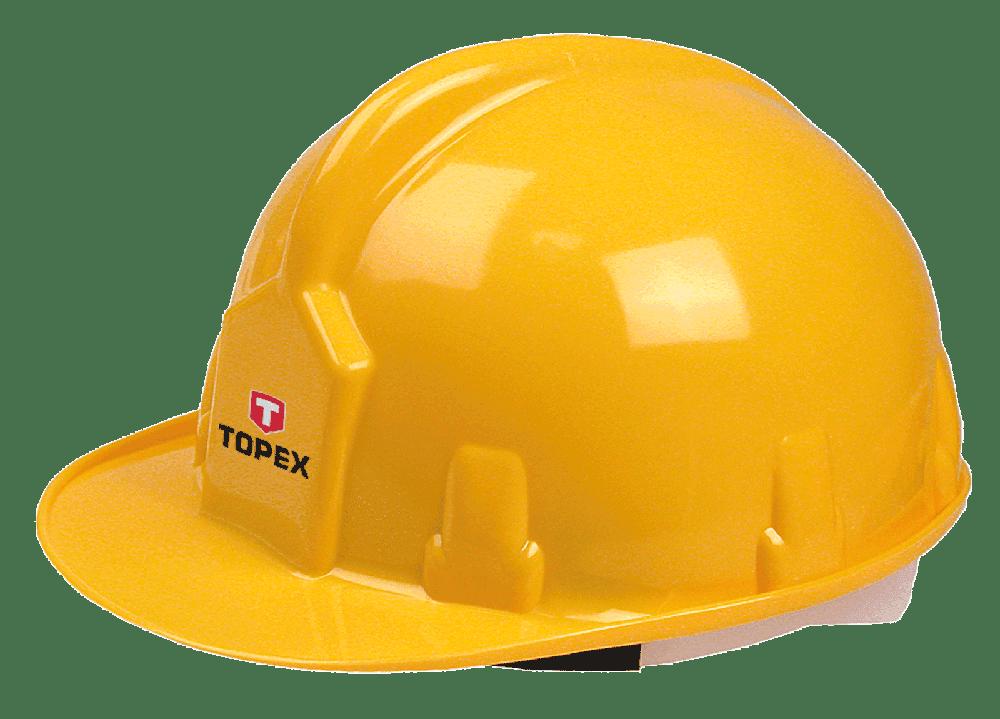 Каска защитная TOPEX 82S200 желтая фото