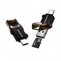 Адаптер ADATA USB 3.0 ACMR3PL-OTG-RBK