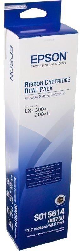 Картридж EPSON original A4 LX300/400/800 FX800/850/870/880 Bundle (2шт) (C13S015614BA) фото 1