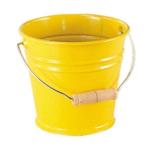 Купить Ведро металлическое nic желтое (NIC535057)