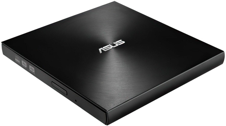 Привід ASUS ZenDrive U9M USB2.0 Ultra Slim Black (SDRW-08U9M-U/BLK/G/AS) фото1