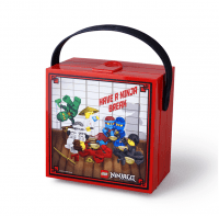 """Ланч-бокс """"Лего Ниндзяго"""" с ручкой объем - 3.1л(40511733)"""