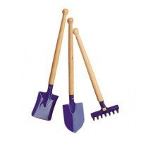Набор садовых инструментов nic синий (NIC535396)
