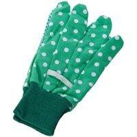 Перчатки садовые nic зеленые (NIC535902)