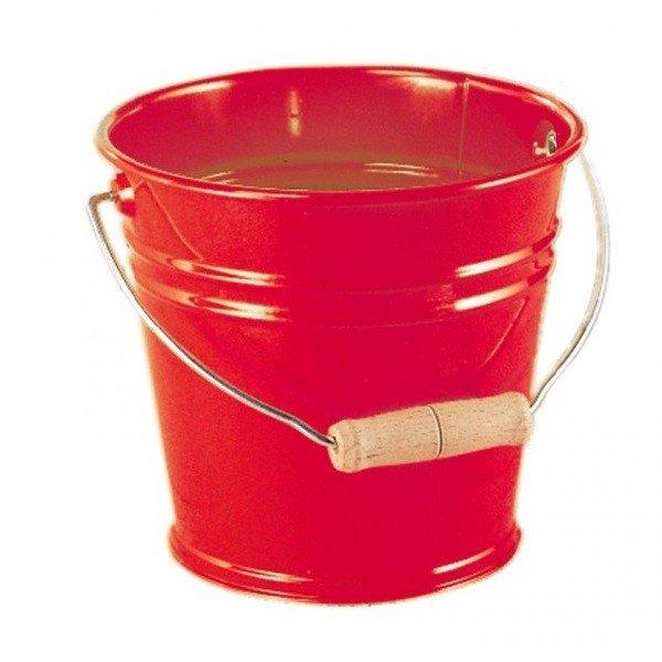 Купить Ведро металлическое nic красное (NIC535054)