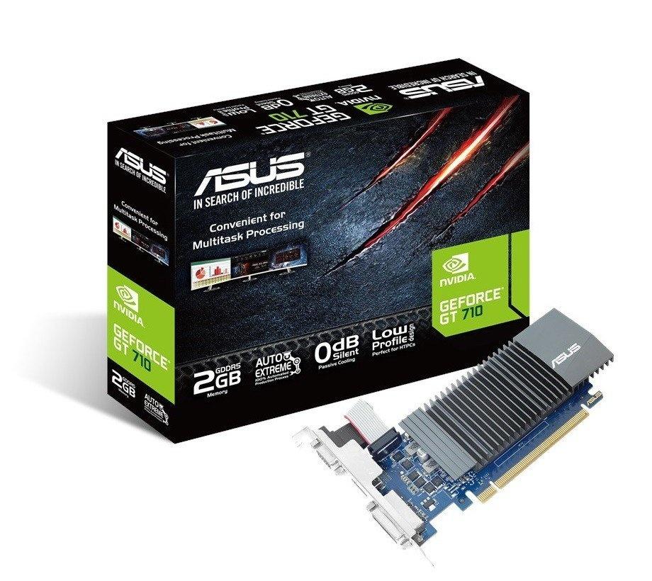 Відеокарта ASUS GeForce GT710 2GB DDR3 Silent (GT710-SL-2GD5) фото1