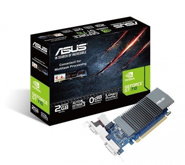 Видеокарта ASUS GeForce GT710 2GB DDR3 Silent (GT710-SL-2GD5) фото 1