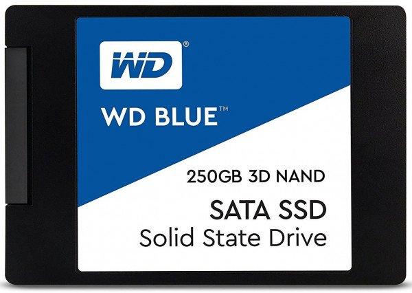 Купить SSD-накопители, SSD накопитель WD Blue 250GB 2.5 SATAIII (WDS250G2B0A)