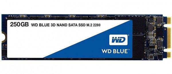 Купить SSD накопитель WD Blue 250GB M.2 SATAIII (WDS250G2B0B)