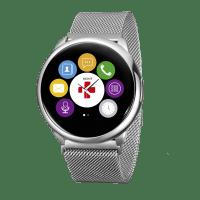 Смарт-часы MyKronoz ZeRound Premium silver/silver