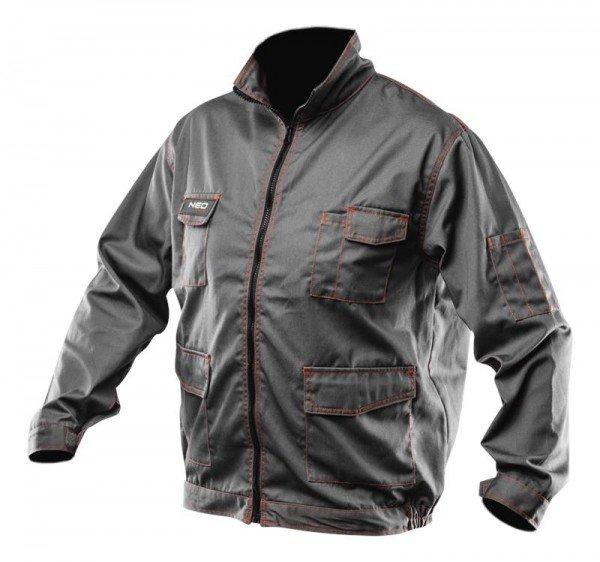 Купить Спецодежда, Куртка рабочая NEO, 245 г/м2, pазмер XXL/58 (81-410-XXL), NEO Tools