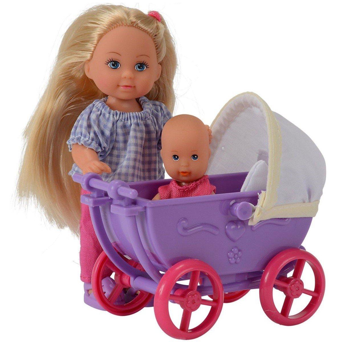 Кукла Simba Эви з малышем в коляске в асс. (5736241 ...
