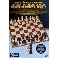 Настольная игра Spin Master Шахматы деревянные фигуры (SM98367/6033313)