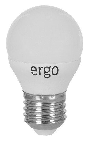 Светодиодная лампа ERGO Standard G45 E27 6W 220V 3000K (LSTG45E276AWFN) фото 1