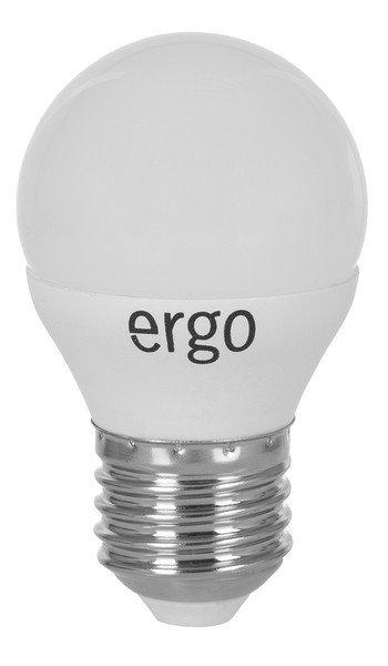 Светодиодная лампа ERGO Standard G45 E27 4W 220V 3000K (LSTG45E274AWFN) фото 1