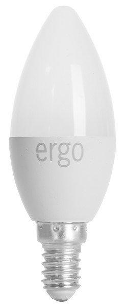 Светодиодная лампа ERGO Basic C37 E14 6W 220V 3000K (LBCC37E146AWFN) фото 1