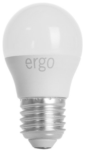 Комплект светодиодных ламп ERGO Basic G45 E27 6W 220V 3000K (LBCG45E276AWFN3+1) фото 1