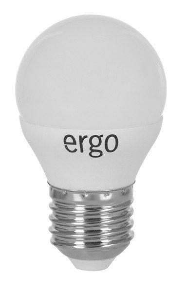 Светодиодная лампа ERGO Standard G45 E27 6W 220V 4100K (LSTG45E276ANFN) фото 1