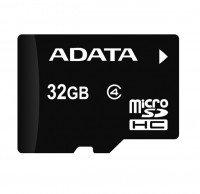 Карта памяти Adata microSDHC 32GB Class 4 UHS-I + SD-адаптер