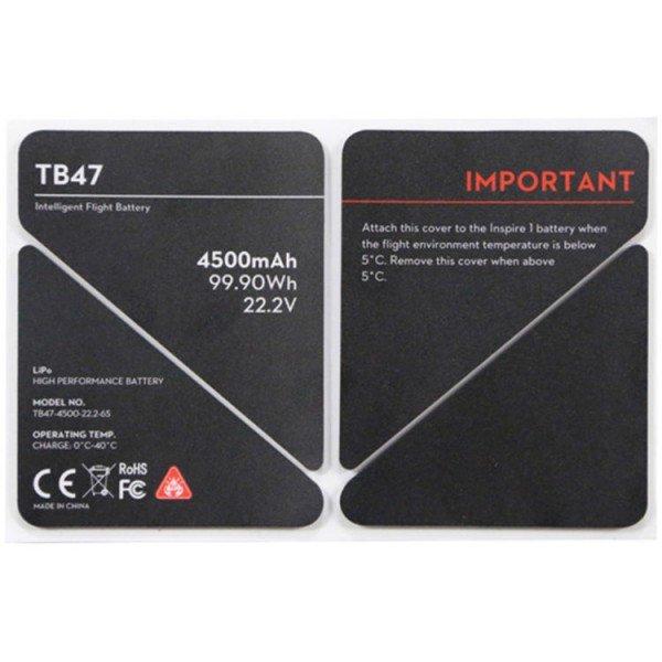 Купить Наклейка DJI для изоляции аккумулятора Inspire 1 Part 50 TB47