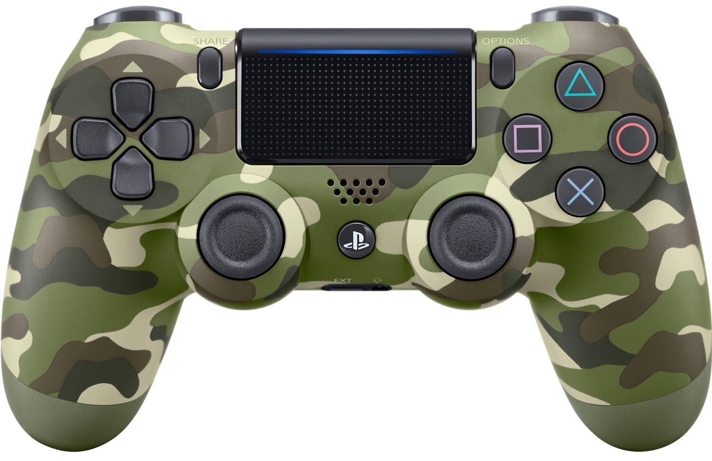 Беспроводной геймпад SONY Dualshock 4 V2 Green Cammo для PS4 (9895152) фото 1