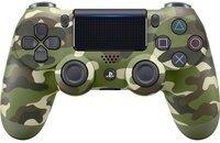 Беспроводной геймпад Dualshock 4 V2 Green Cammo для PS4 (9895152)