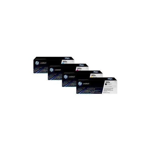 Картридж лазерный HP 305A black (CE410A)