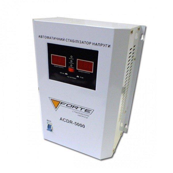 Стабілізатор напруги Forte ACDR-5kVA фото1