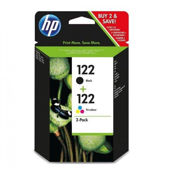 Купить Картридж струйный HP No.122 Black/Tri-color Combo Pack (CR340HE)