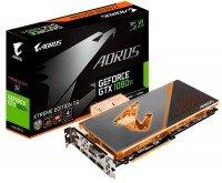 Відеокарта GIGABYTE GeForce GTX 1080 TI 11GB GDDR5X WaterCooling (GV-N108TAORUSX WB-11GD)