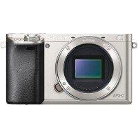 Фотоаппарат SONY Alpha a6000 body Silver (ILCE6000S.CEC)