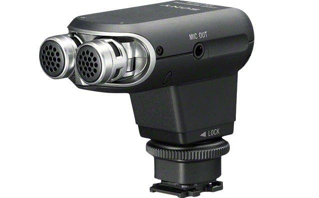 Стереомікрофон Sony XYST1M для мультиінтерфейсного роз'єму (ECMXYST1M.CE7)фото1