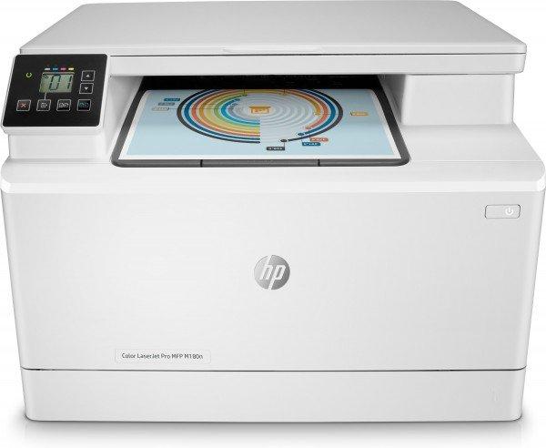 Купить МФУ лазерное HP Color LJ Pro M180n (T6B70A)