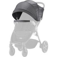 Козырек BRITAX B-AGILE/B-MOTION Black Denim + накидка (2000025714)