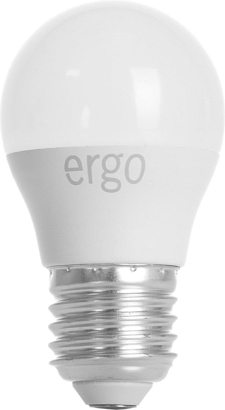 Светодиодная лампа ERGO Basic G45 E27 6W 220V 4100K (LBCG45E276ANFN) фото 1