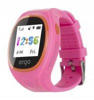 Детские часы ERGO с GPS трекером TRACKER JUNIOR COLOR J010 Pink