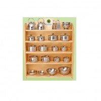 Подставка nic для набора посудки металической (NIC530390-stand)