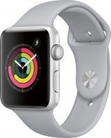 Смарт-часы Apple Watch Series 3 GPS 42mm Silver Aluminium Case with Fog Sport Band (MQL02FS/A)