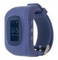 Детские часы ERGO с GPS трекером TRACKER KID`S K010 Dark Blue
