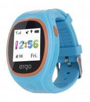 Детские часы ERGO с GPS трекером TRACKER JUNIOR COLOR J010 Blue